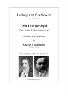 Three Trios: Three Trios by Ludwig van Beethoven