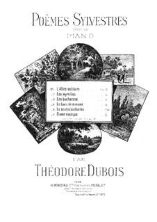 Poèmes sylvestres: No.1 L'allée solitaire by Théodore Dubois