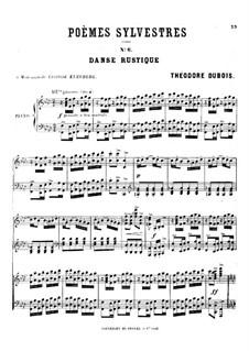 Poèmes sylvestres: No.6 Danse rustique by Théodore Dubois