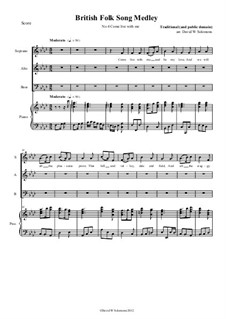 Come live with me: PARA SAB coro e piano by folklore