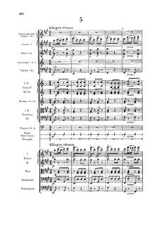 No.5 Skočná: Partitura completa by Antonín Dvořák