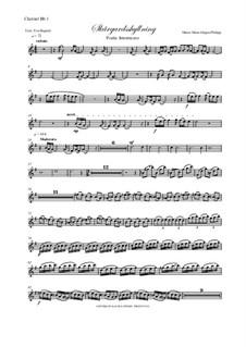 Skargardsshyllning: Clarinet I, II parts by Hans-Jürgen Philipp