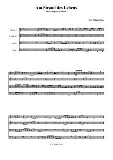 Lost in Wonder Love and Praise: para quartetos de cordas by folklore