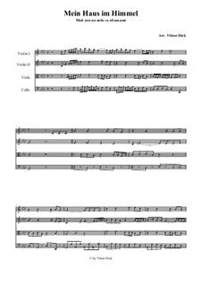 My Home is in Heaven: para quartetos de cordas by folklore