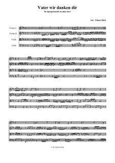 Praise the Heavenly Father: para quartetos de cordas by folklore