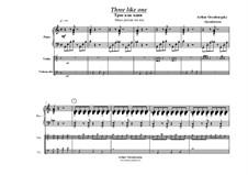 Three Like One: Three Like One by Arthur Orenburgsky