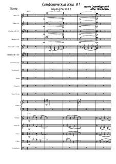Simphony Scetch: Simphony Scetch by Arthur Orenburgsky