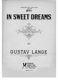 In süssen Träumen (In Sweet Dreams), Op.322: Para Piano by Gustav Lange