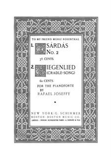 Cradle-Song: para um único musico (Editado por H. Bulow) by Rafael Joseffy