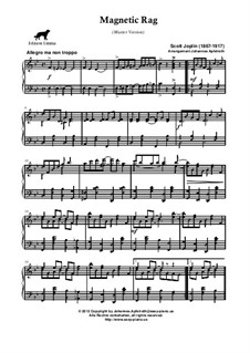 Magnetic Rag: versão master by Scott Joplin