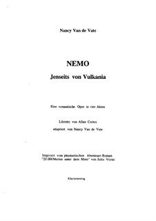 Nemo: Jenseits von Vulkania: partituras de vocais by Nancy Van de Vate
