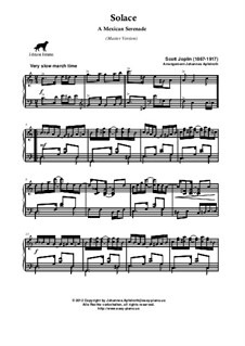 Solace: versão master by Scott Joplin
