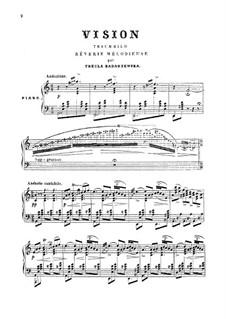 Vision: Para Piano by Tekla Bądarzewska-Baranowska