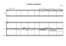 Quartet for Piano, Violin, Alto violin and Cello, MVWV 603: Quartet for Piano, Violin, Alto violin and Cello by Maurice Verheul