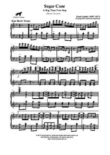 Sugar Cane: versão master by Scott Joplin
