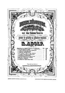 Polonaise de l'opéra 'La Comtesse': para piano de quadro mãos by Stanisław Moniuszko