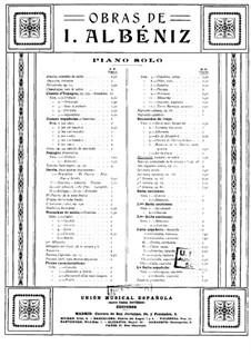 Ricordatti, Op.96: Ricordatti by Isaac Albéniz