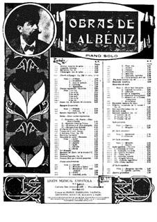 Rimas de Bécquer: partitura para piano by Isaac Albéniz
