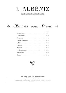 The Seasons, Op.201: No.2 L'Été by Isaac Albéniz
