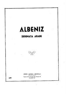 Serenata Arabe: Para Piano by Isaac Albéniz