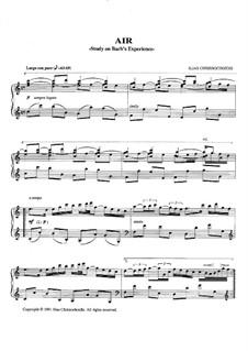 Air: Printed score by Ilias Chrissochoidis