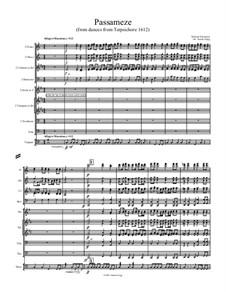 Terpsichore: Passameze, for wind ensemble by Michael Praetorius
