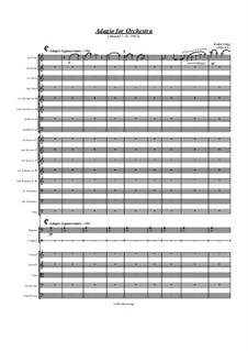 Adagio for Orchestra: Adagio for Orchestra by Jordan Grigg