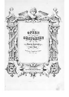 Complete Opera: Partitura Piano-vocal by Vincenzo Bellini