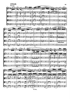 String Quintet No.1 in E Flat Major, Op.4: Movimento IV by Ludwig van Beethoven