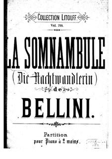 Complete Opera: partitura para piano by Vincenzo Bellini