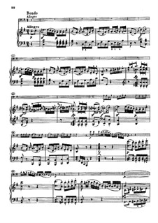 Sonata for Cello and Piano No.2 in G Minor, Op.5: movimento III by Ludwig van Beethoven