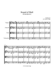 Sound of Mull: para quartetos de cordas by folklore