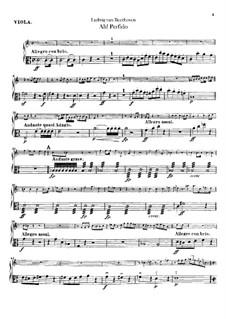 Ah! Perfido, Op.65: parte viola by Ludwig van Beethoven