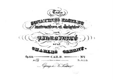 Trois sonatines faciles, Op.158: Sonatina No.1 by Carl Czerny