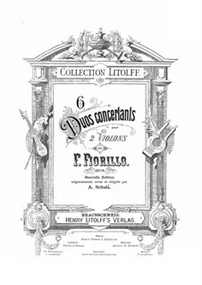 Six Duos Concertants, Op.14: Six Duos Concertants by Federigo Fiorillo