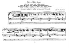 Trois Pièces: Pièce Héroïque by César Franck