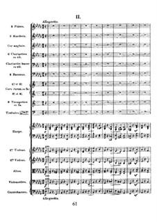 Simphony in D Minor, Op.48: movimento II by César Franck