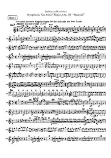 Complete Symphony: trompa parte I-II by Ludwig van Beethoven