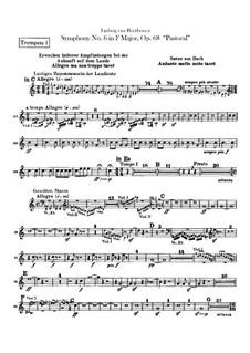 Complete Symphony: trompetas parte I-II by Ludwig van Beethoven