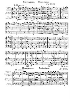 Contredanses for Orchestra: Contredanses for Orchestra by Wolfgang Amadeus Mozart