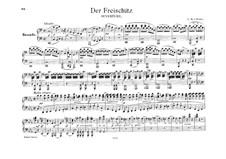 Overture: para piano de quadro mãos by Carl Maria von Weber