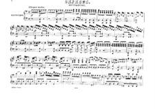 Overture: para piano de quadro mãos by Christoph Willibald Gluck