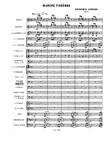 Pieces for Orchestra, Op.51: Marche funèbre (Funeral march) by Benjamin Godard