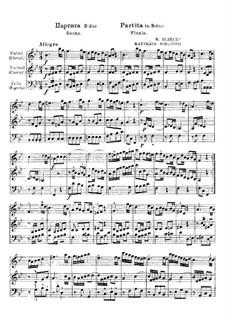 Partita in B Flat Major. Finale: Partita in B Flat Major. Finale by Mathias Schloger