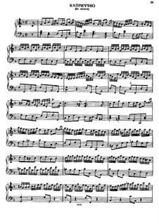 Capriccio in F Major, HWV 481: Capriccio in F Major by Georg Friedrich Händel