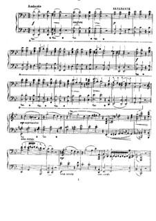 Almira, HWV 1: Sarabande und Chaconne, für Klavier by Georg Friedrich Händel