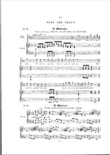 L'Allegro, il Penseroso, ed il Moderato, HWV 55: No.39-42 by Georg Friedrich Händel