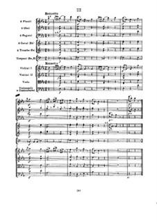 Symphony No.103 in E Flat Major 'Drum Roll', Hob.I/103: movimento III by Joseph Haydn