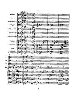 Symphony No.104 in D Major 'London', Hob.I/104: movimento I by Joseph Haydn