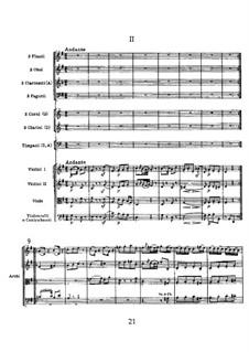 Symphony No.104 in D Major 'London', Hob.I/104: movimento II by Joseph Haydn